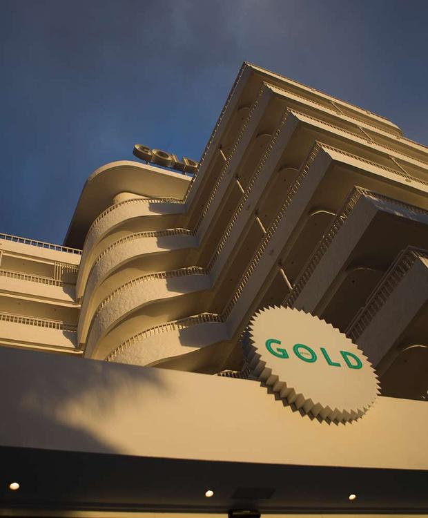 Aussenbereich Hotel Gold By Marina